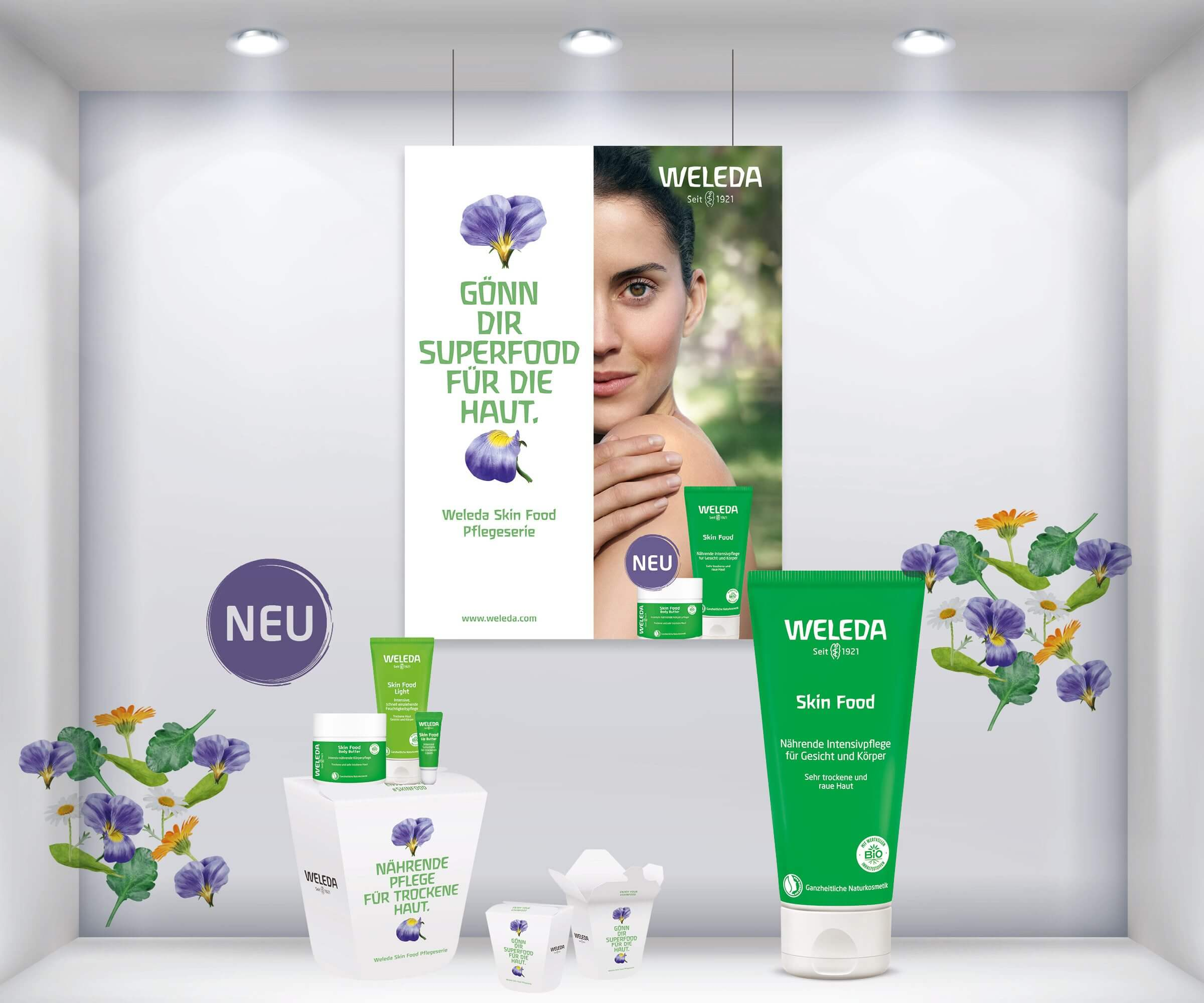 Weleda_Skin_Food_Schaufenster