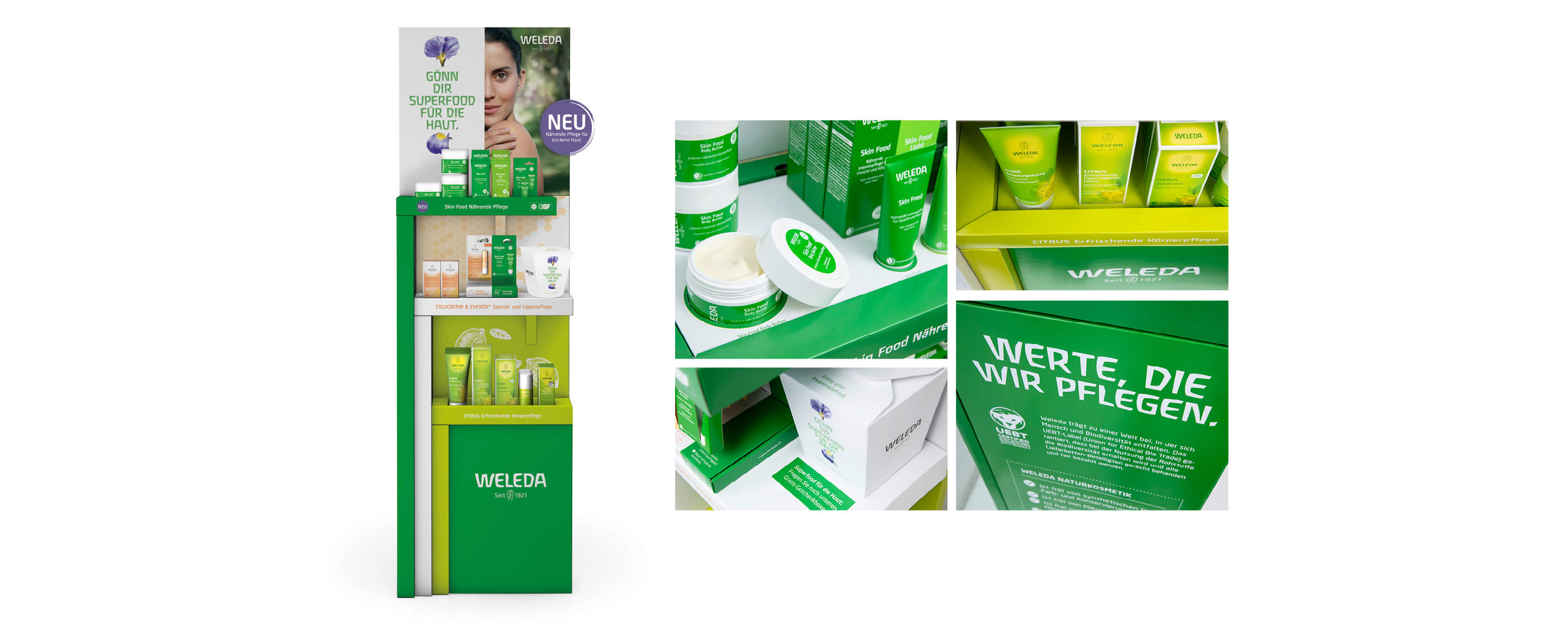 Weleda_Skin_Food_Display