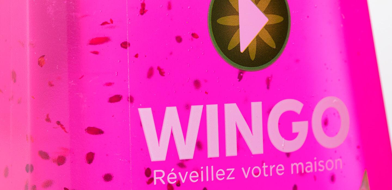 Wingo Putzmittel Verpackungen